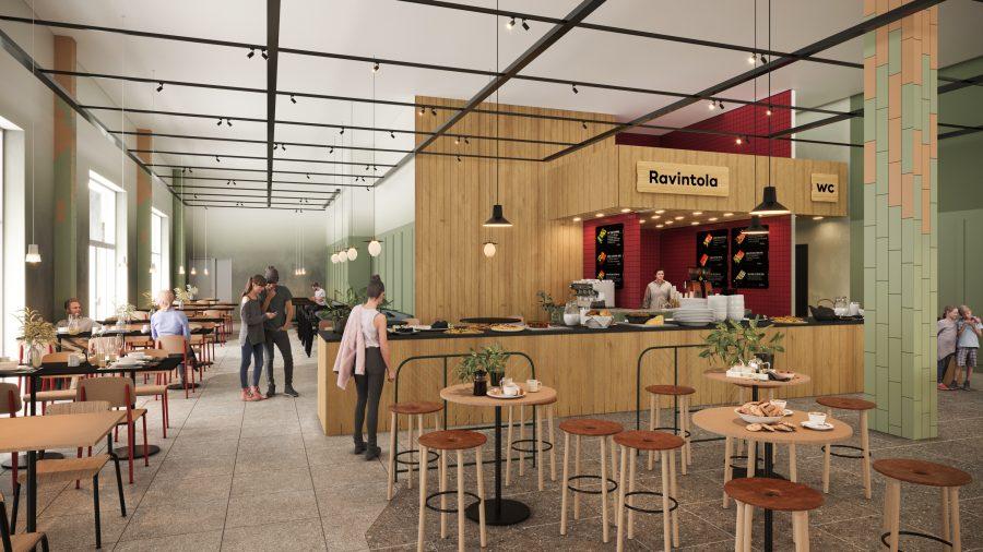 Uusi ravintola-alue Matkukseen!